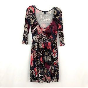 French Connection Butterfly Print Dress